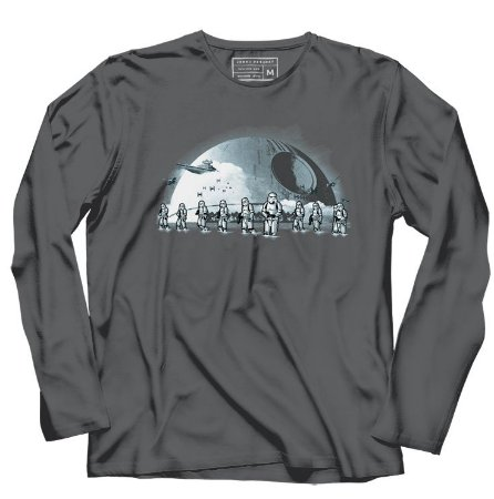 Camiseta Manga Longa Space Wars Beach Troapers - Loja Nerd e Geek - Presentes Criativos