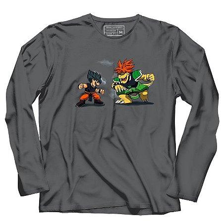 Camiseta Manga Longa Street Z - Loja Nerd e Geek - Presentes Criativos
