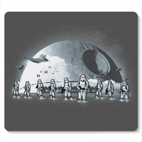 Mouse Pad Space Wars BeachTroopers - Loja Nerd e Geek - Presentes Criativos