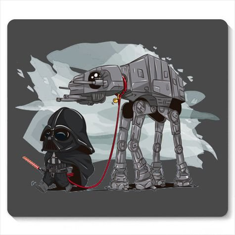 Mouse Pad Space wars Evil - Loja Nerd e Geek - Presentes Criativos
