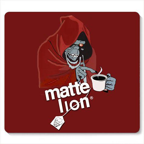 Mouse Pad Matte Lion - Loja Nerd e Geek - Presentes Criativos
