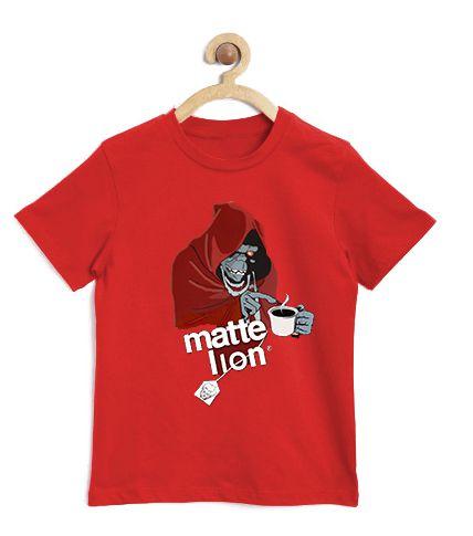 Camiseta Infantil Matte Lion - Loja Nerd e Geek - Presentes Criativos