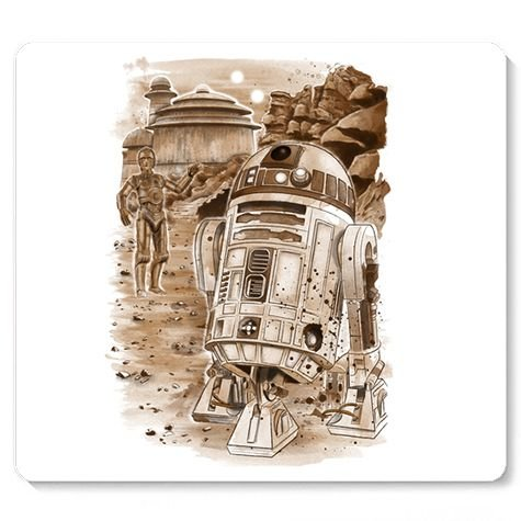 Mouse Pad Robô - Space Wars - Loja Nerd e Geek - Presentes Criativos
