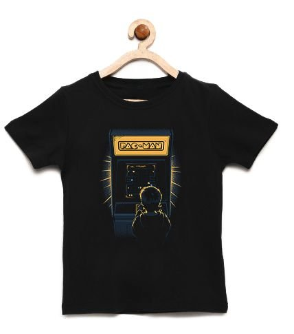 Camiseta Infantil Arcade - Loja Nerd e Geek - Presentes Criativos