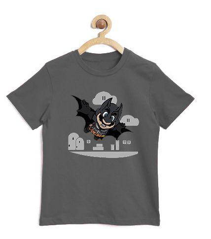 Camiseta Infantil Bat Morcego - Loja Nerd e Geek - Presentes Criativos