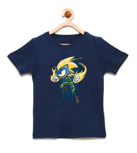Camiseta Infantil Hedgehog  - Loja Nerd e Geek - Presentes Criativos