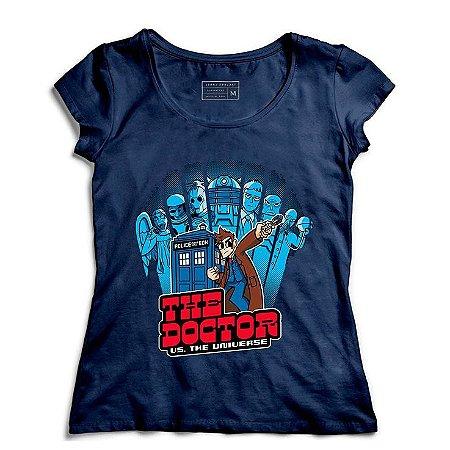 Camiseta Feminina The Doctor - Loja Nerd e Geek - Presentes Criativos