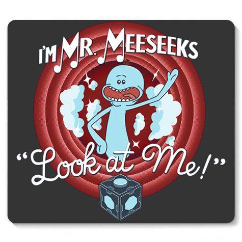 Mouse Pad Meeseeks - Loja Nerd e Geek - Presentes Criativos