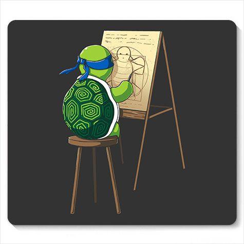 Mouse Pad Leonardo - Loja Nerd e Geek - Presentes Criativos