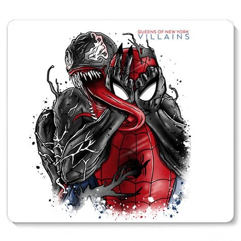 Mouse Pad Spider Bad - Loja Nerd e Geek - Presentes Criativos