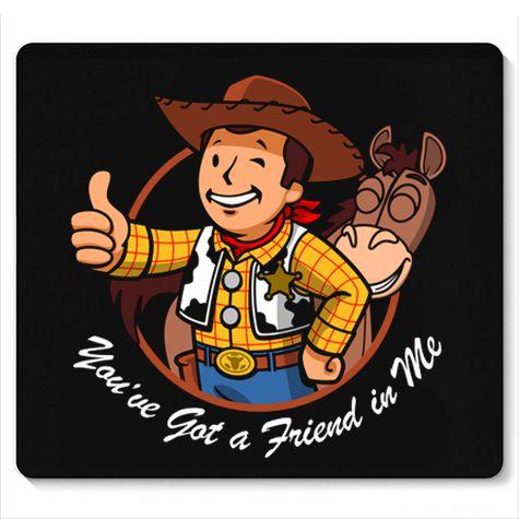 Mouse Pad Cowboy - Loja Nerd e Geek - Presentes Criativos