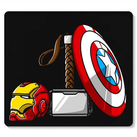 Mouse Pad Os Armas - Loja Nerd e Geek - Presentes Criativos