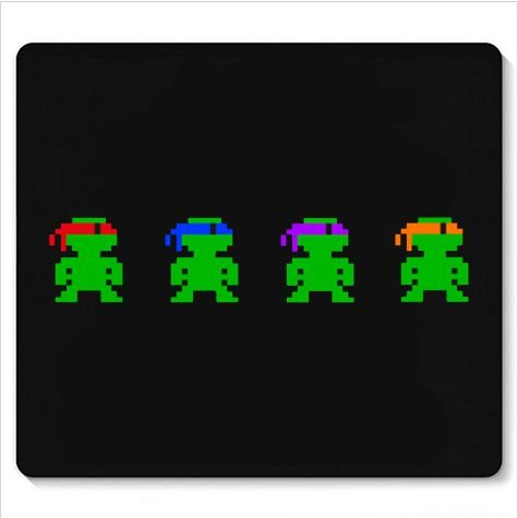 Mouse Pad Ninjas - Loja Nerd e Geek - Presentes Criativos