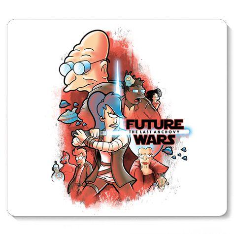 Mouse Pad Space wars Future - Loja Nerd e Geek - Presentes Criativos
