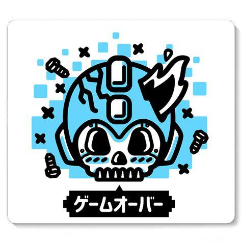 Mouse Pad Zombie Man Game - Loja Nerd e Geek - Presentes Criativos