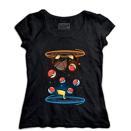 Camiseta Feminina Ball - Loja Nerd e Geek - Presentes Criativos