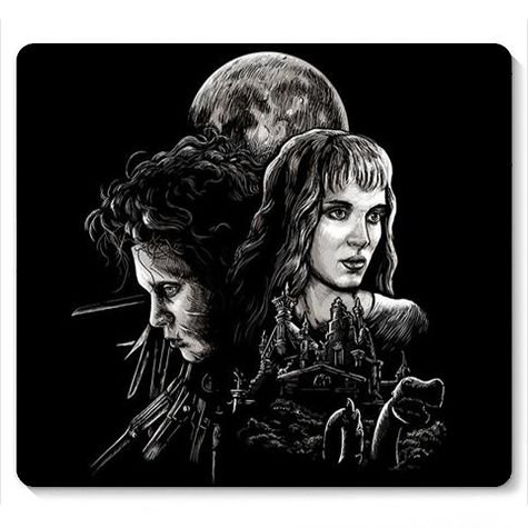 Mouse Pad Edward Maos de Tesoura - Loja Nerd e Geek - Presentes Criativos