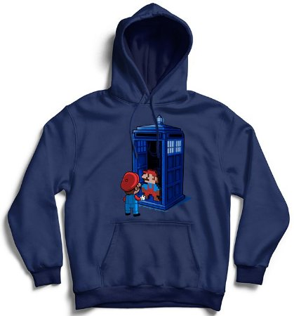 Moletom com Capuz Back to 8 Bits - Loja Nerd e Geek - Presentes Criativos