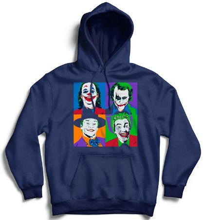 Moletom com Capuz Faces - Loja Nerd e Geek - Presentes Criativos