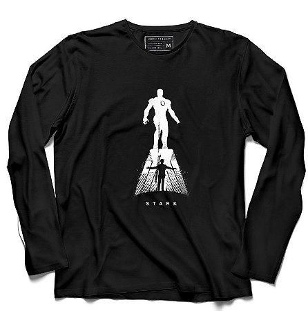 Camiseta Manga Longa Stark - Loja Nerd e Geek - Presentes Criativos