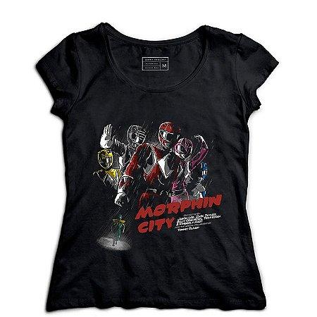 Camiseta Feminina Power Rangers - Loja Nerd e Geek - Presentes Criativos