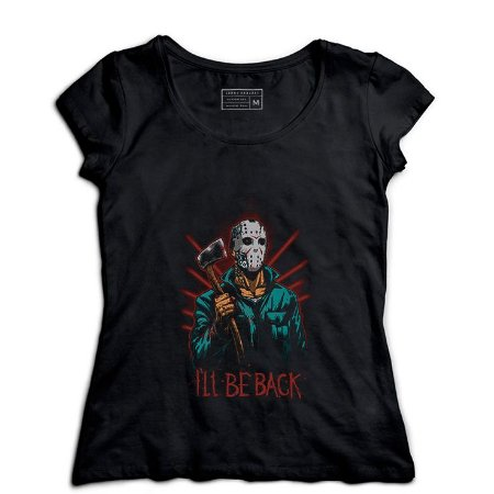 Camiseta Feminina Jason - Loja Nerd e Geek - Presentes Criativos