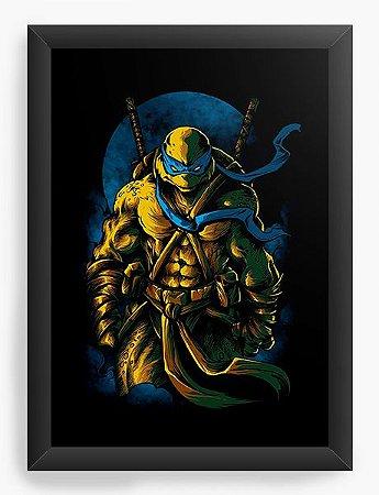 Quadro Decorativo A4 (33X24) Tartarugas Ninja - Loja Nerd e Geek - Presentes Criativos