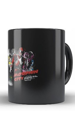 Caneca Power Rangers - Loja Nerd e Geek - Presentes Criativos