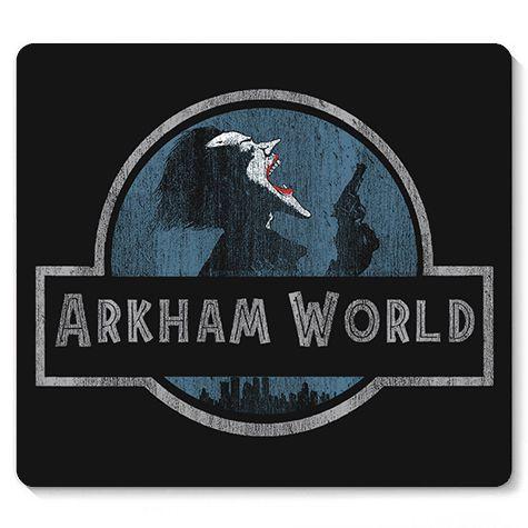 Mouse Pad Arkham - Loja Nerd e Geek - Presentes Criativos