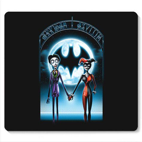 Mouse Pad Gotham - Loja Nerd e Geek - Presentes Criativos