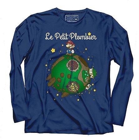 Camiseta Manga Le Petit Plumber - Loja Nerd e Geek - Presentes Criativos
