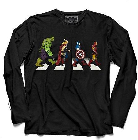 Camiseta Manga Os Protetores da Terra - Loja Nerd e Geek - Presentes Criativos