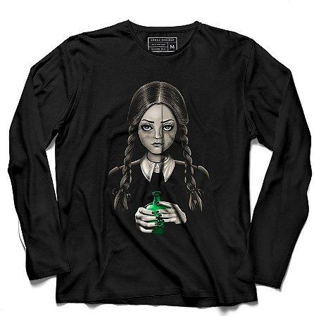 Camiseta Manga Familia Estranha - Loja Nerd e Geek - Presentes Criativos