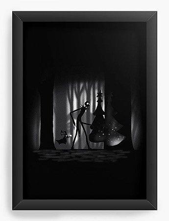 Quadro Decorativo A4 (33X24) Jack Nightmare - Loja Nerd e Geek - Presentes Criativos