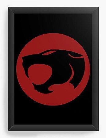 Quadro Decorativo A4 (33X24) Thundercats - Loja Nerd e Geek - Presentes Criativos
