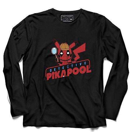 Camiseta Manga Longa Pool - Loja Nerd e Geek - Presentes Criativos