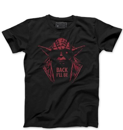 Camiseta Masculina Back - Loja Nerd e Geek - Presentes Criativos