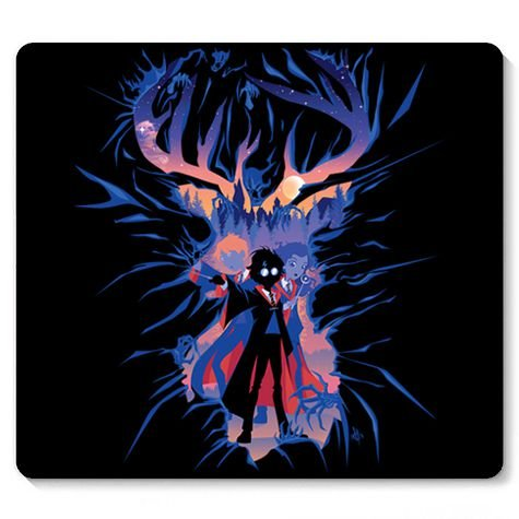 Mouse Pad Summoned - Loja Nerd e Geek - Presentes Criativos