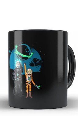 Caneca Space Rick and Morty - Loja Nerd e Geek - Presentes Criativos