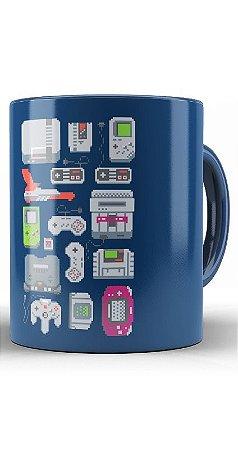 Caneca Nintendo Game