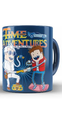 Caneca Time Adventures Back to the Future