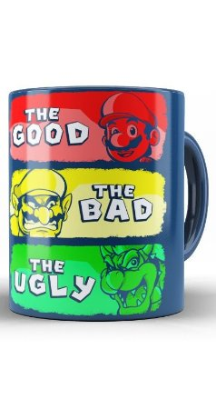 Caneca Mario The Good the bad