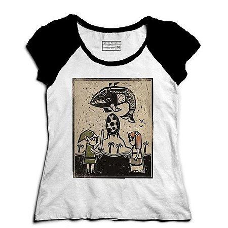 Camiseta Feminina Raglan My Hero Elf - Loja Nerd e Geek