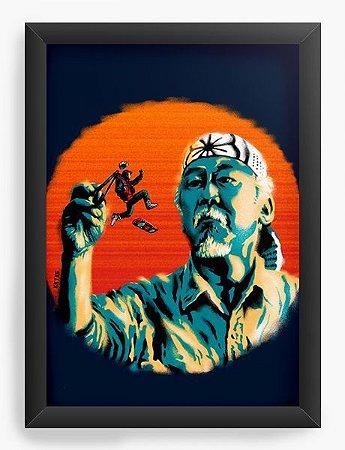Quadro Decorativo A3 (45X33)  O Ninja - Loja Nerd e Geek - Presentes Criativos