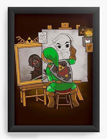 Quadro Decorativo A3 (45X33) Geekz Elf Artista - Loja Nerd e Geek - Presentes Criativos