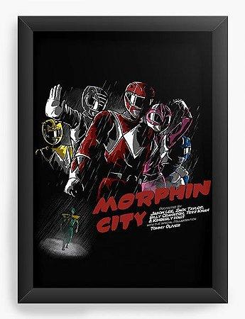 Quadro Decorativo A3 (45X33) Power Rangers - Loja Nerd e Geek - Presentes Criativos