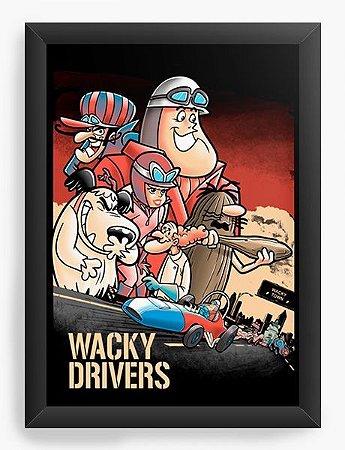 Quadro Decorativo A3 (45X33) Drivers - Loja Nerd e Geek - Presentes Criativos
