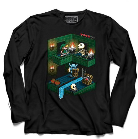 Camiseta Manga Longa The Legend of elda - Loja Nerd e Geek - Presentes Criativos