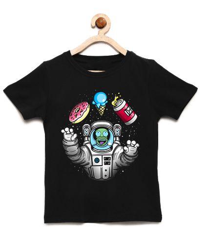 Camiseta Infantil Homer Simpsons Space- Loja Nerd e Geek - Presentes Criativos