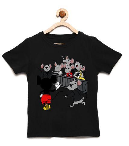 Camiseta Infantil Mickey Mouse - Loja Nerd e Geek - Presentes Criativos